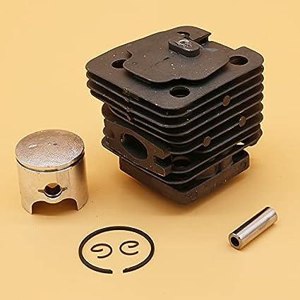 Juego de pistón de cilindro de 39 MM, piezas de repuesto para motosierra de jardín china 3800 38CC, herramienta perfecta de repuesto