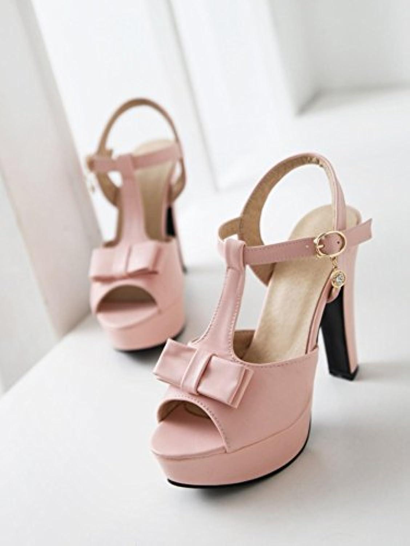 WHW Women's Wedge Heel Wedges Heels Peep Toe Platform Comfort Open Toe Sandals,pink red,45