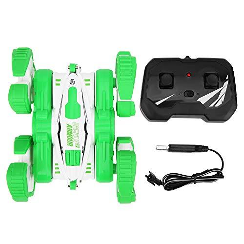 Coche teledirigido recargable del USB, camión del 1:32 2.4G RC, para los adultos de los niños(green)