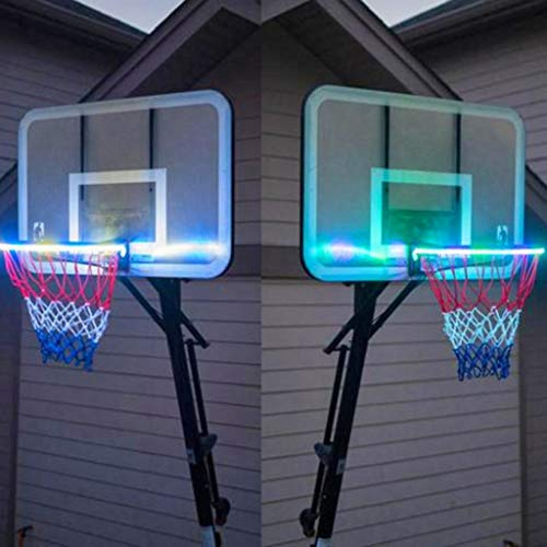 Buy Discount YYXX PENGYUCHANG Basketball Rim LED Light Helps You Shoot Hoops at Night for Kids Adult...