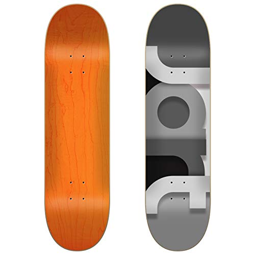 Jarts Mighty LC Jart Deck Skateboard, 20,3 x 8,5 cm, Unisex, Erwachsene, Mehrfarbig, 21,4 cm