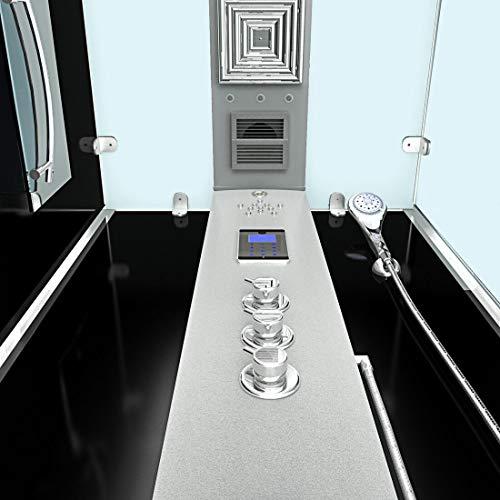 AcquaVapore DTP6038-2303L Dusche Dampfdusche Duschtempel Duschkabine -Th. 100×100, EasyClean Versiegelung der Scheiben:2K Scheiben Versiegelung +99.-EUR - 7