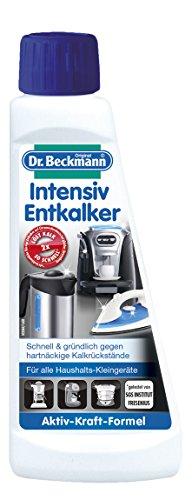 3 x Dr. Beckmann Intensiv Entkalker für Haushaltskleingeräte je 250ml, entfernt Kalkablagerungen schnell & gründlich