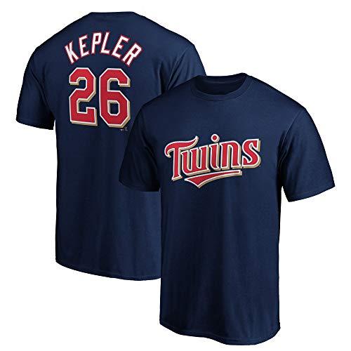 Outerstuff MLB Youth Performance Polyester Team Farbe Spieler Name und Nummer Jersey T-Shirt, Jungen, Max Kepler Minnesota Twins Marineblau, Large