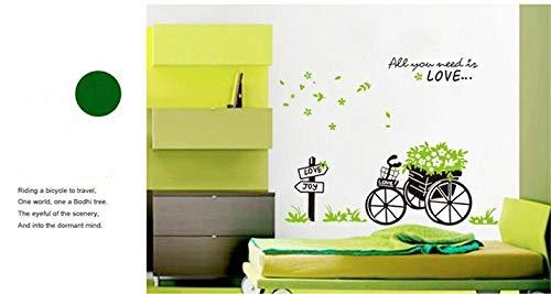 Diy Und Werkzeuge,Kreative Float Wandaufkleber Schlafzimmer Schlafsofa Dekoration Selbstklebendes Papier@50 * 70Cm