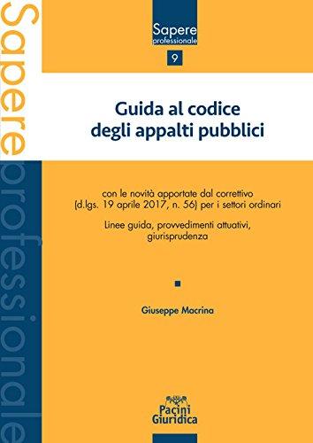 Guida al codice degli appalti pubblici