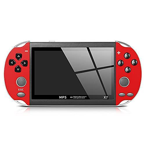 XUANWEI X7 8 GB console portátil de videogame PSP, jogador de videogame, console de videogame integrado, console portátil de videogame com joystick duplo