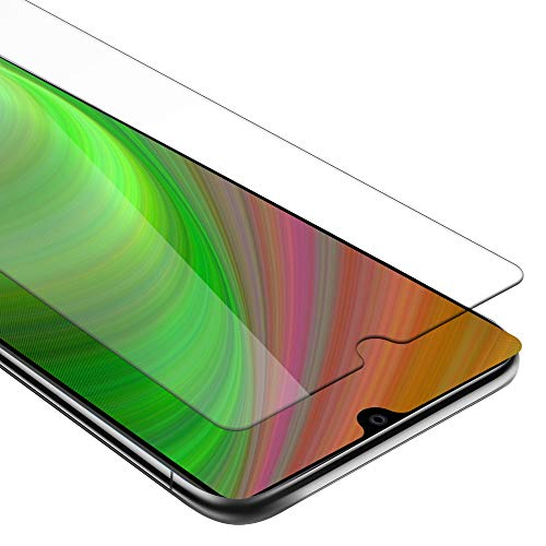 Cadorabo Panzerglasfolie für Huawei Mate 20 - Schutzfolie in KRISTALL KLAR - Gehärtet (Tempered) Bildschirmschutz Glas in 9H Festigkeit mit 3D Touch (Retail Packaging)