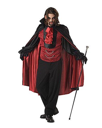 Costume Halloween / Carnevale da Vampiro Conte Dracula Sanguinario – Uomo Medium