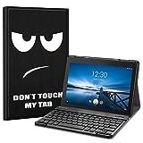 Fintie Tastatur Hülle für Lenovo Tab E10 TB-X104F 10,1