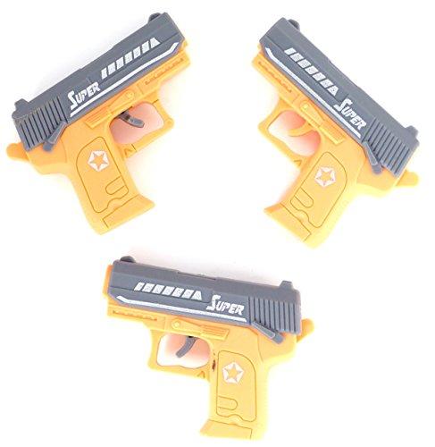 Nick and Ben Mini Pistole Erbsen-Pistole 3er Set Kinder-Pistole
