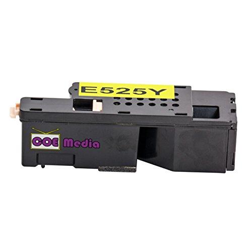 Toner kompatibel zu Dell E525w | Gelb / ca. 1400 Seiten | geeignet für Dell Color MFP E525w