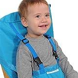 ベビー 椅子 ベルト 調整可能 チェアベルト ベビーチェアベル 収納ポケット付きチェアベルト 携帯便利 調整できる 幼児旅行の安全 gratefulfor 赤ちゃん食事用補助ベルト 外出も楽に食事ができる用品 安全補助グッズ