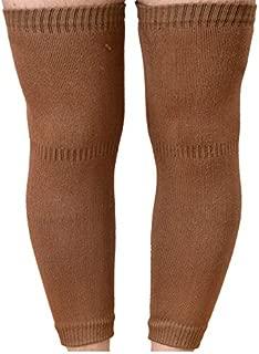 SIKANDER-Unisex Woollen Elastic Knee Leg Support Warm & Winter Protector Knee Cap/Knee Jacket (Brown)