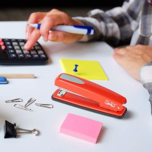 Mr. Pen- Stapler with Staples, Red Stapler, 1000 Staples, Staplers for Desk, Staplers Office, Office Stapler, Desk Stapler, Metal Stapler, Standard Stapler, Stapler and Staple, Stapler Office Supplies Photo #4