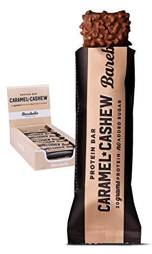 Barebells - 12 barritas de proteínas de coco y chocolate, 55 g por unidad