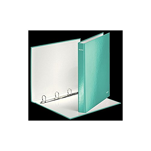 Carpeta 4 anillas WOW A4 Maxi, couv. rígido plastificado rígida, ancho de 40, Menta Helada – Lote de 10: Amazon.es: Oficina y papelería