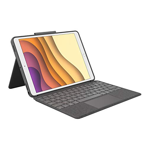 Logitech Combo Touch Keyboard Dock for Apple iPad Pro 10.5 and Air 3 Grey