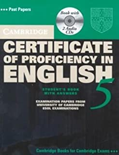 Cambridge Certificate of Proficiency in English 5 Self Study Pack: Examination Papers from University of Cambridge ESOL Ex...