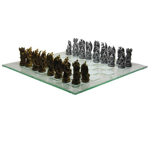 Fantasy Dragon Chess Set by Pacific Giftware