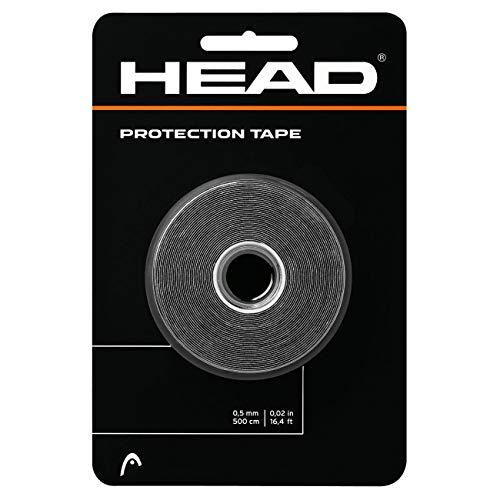 Head Protection Tape Cinta Protectora, Unisex Adulto, Negro, Talla única