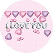 Forzza I Love You Balloons Set for Expressing Love/Speaking Out/Confessing Love and Party Decoration