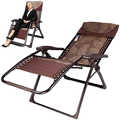Patio Sonnenliege Gartenstühle Oversize Zero Gravity Chaise Outdoor Klapp Rattan Sonnenliegen Liegestuhl Strandstuhl Sessel für Wohnzimmer Sale