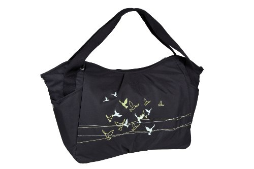 Casual LTWB10172 Twin Bag Flock of Birds, zwart