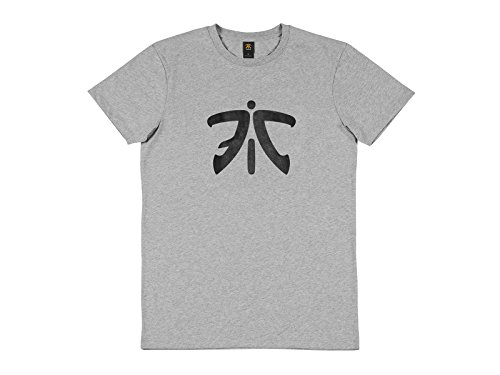 Fnatic ESS Logo Tee, Light Grey, M