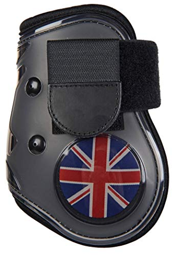 HKM flapdoppen vlag voor het achterbeen, Vollblut/Warmblut, Vlag UK