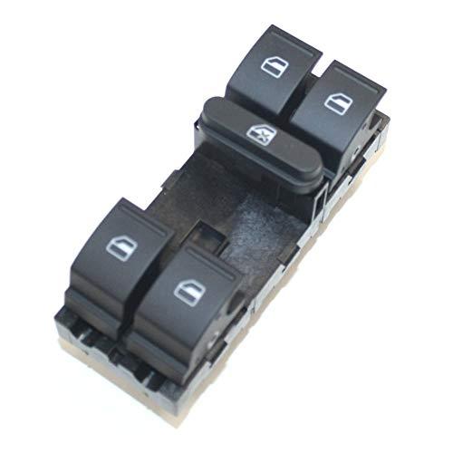 Interruptor elevalunas 4 vías, color negro 1K4959857CREH