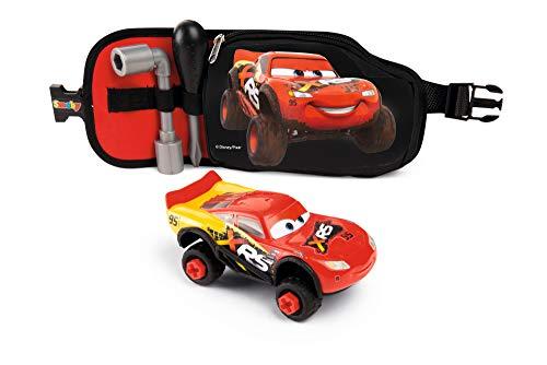 Smoby 360179 CINTURÓN DE HERRAMIENTAS Con COCHE Cars XRS Werkzeuggürtel mit Flash McQueen,...