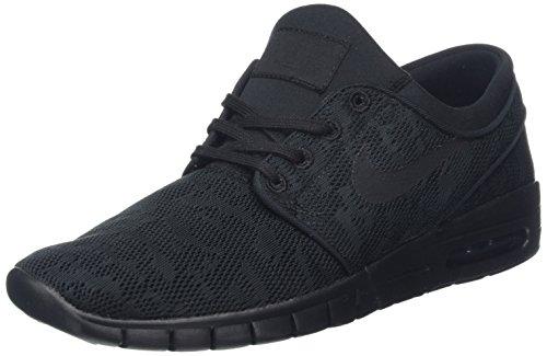 Nike Air SB Stefan Janoski Max Sneaker All Black, EU Shoe Size:41 EU