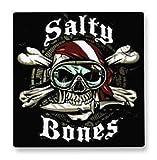 ISC Taucher-Aufkleber Salty Bones