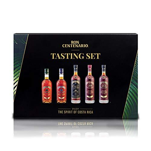 Rum Tasting Set Ron Centenario - vielfach mit Gold ausgezeichnete Weltklasse-Spirituose - das perfekte Geschenk für Rum - Liebhaber
