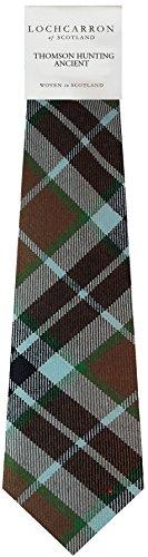 I Luv Ltd Gents Neck Tie Thompson Hunting Ancient Tartan Lightweight Scottish Clan Tie