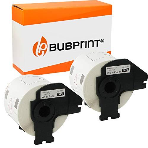 Bubprint Kompatibel Etiketten als Ersatz für Brother DK 11202 DK-11202 für P-Touch QL1050 QL1060N QL500 QL550 QL560 QL570 QL580N QL700 QL710W QL720NW QL810W 2er-Pack