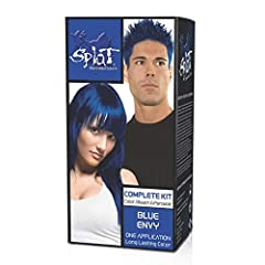 Vibrant One application Semi-Permanent hair color! Fantasy Kit includes color, bleach and peroxide. Unique formula Conditions Hair While it leaves Bright Colors! For ALL hair colors and types! Easy to Use, Made in the USA