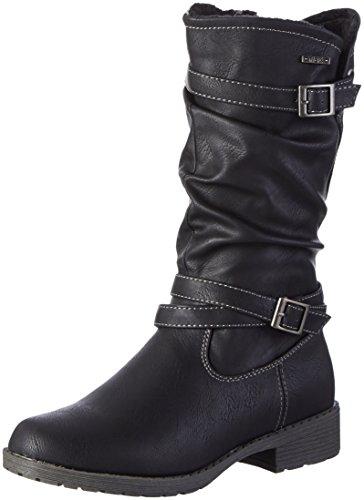 Indigo Mädchen Stiefelette Kurzschaft Stiefel, Schwarz (000 Black), 31 EU