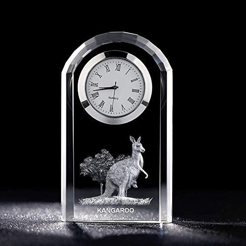 ZWWZ European-Uhr innen geschnitzt kristall pendel stück Dekoration kristall Ornament MISU