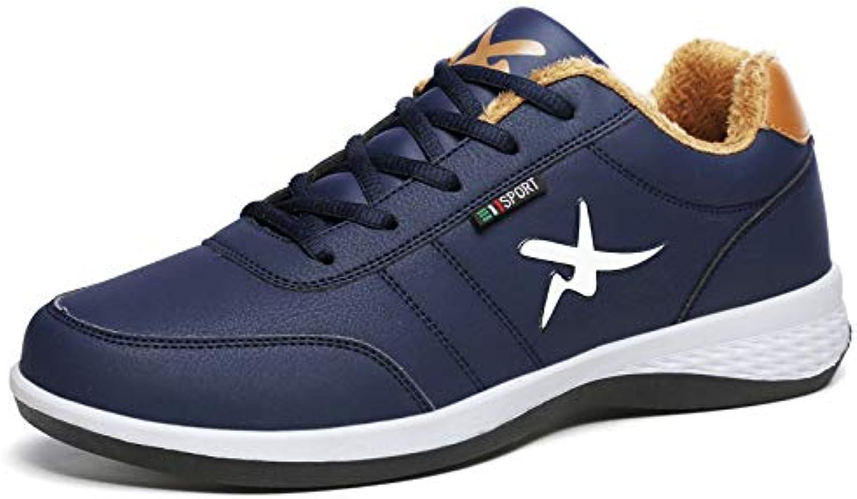 LOVDRAM Boots Men's Winter Cotton shoes Men'S Low Cotton shoes Men'S Thick Men'S shoes Skid shoes Men'S Fashion