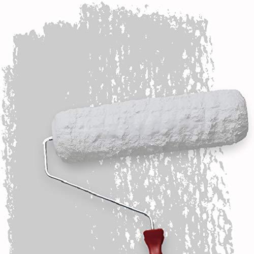 WALLCOVER Colors Wandfarbe grau für Innen 2,5 L Innenfarbe Moon 1C Matt | Profi Farbe Innenwandfarbe in Premium Qualität | weitere Größen und Farbtöne erhältlich