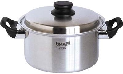 ビタクラフト 両手鍋 IH対応 ステンレス 蓋付 10年保証 ベトナム製 テキサスII 4.0L 8585