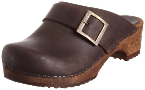 Sanita Damen Urban open Clogs, Braun (antique brown 78), 41 EU
