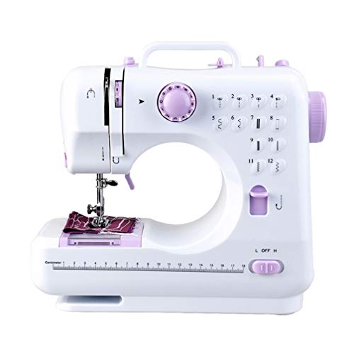 Best Bargain Exceart 1 pc Sewing Machine Electric Multifunction Double Speed Double Thread Reverse F...