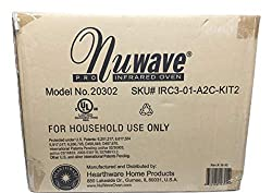 professional NuWave White Infrared Oven with Extension Ring Kit