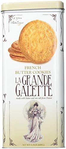 La Grande Galette French Butter Cookies (no Tin Box)