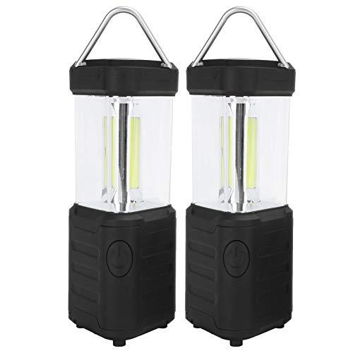 Linternas LED, con luz de campamento portátil a nivel de brújula, 2 piezas para senderismo, suministros de iluminación de emergencia para exteriores