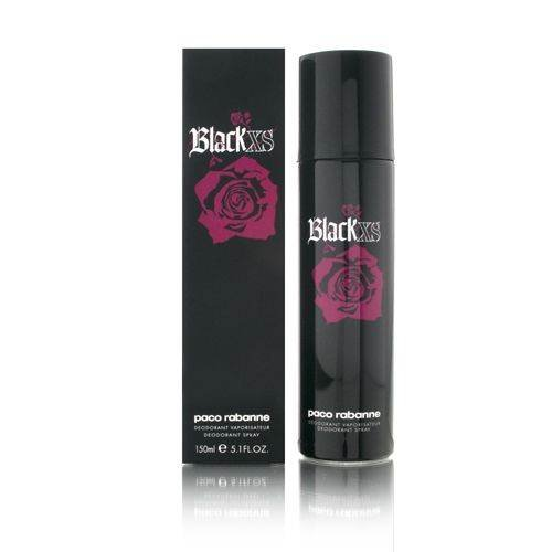Paco Rabanne Black XS for her femme / woman, Deodorant Spray 150 ml, 1er Pack (1 x 150 ml)
