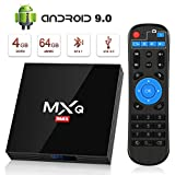 Android 9.0 TV Box [4GB RAM+64GB ROM], Superpow Android Box TV 4K, USB...